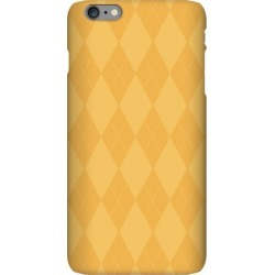 Gold Argyle Phone Case from LookHUMAN found on Bargain Bro India from LookHUMAN for $25.99