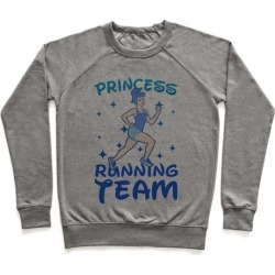 Princess Running Team Pullover from LookHUMAN
