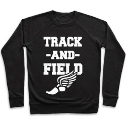 Track And Field Pullover from LookHUMAN