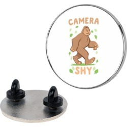 Camera Shy Pin from LookHUMAN