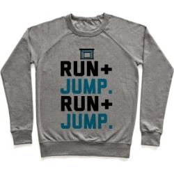 Hurdles: Run and Jump Pullover from LookHUMAN