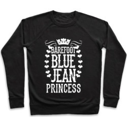 Barefoot Blue Jean Princess Pullover from LookHUMAN found on Bargain Bro Philippines from LookHUMAN for $34.99