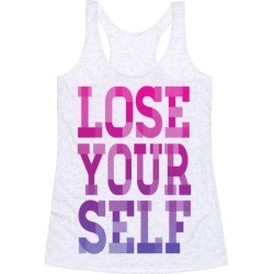 Lose Yourself Racerback Tank from LookHUMAN found on Bargain Bro India from LookHUMAN for $25.99