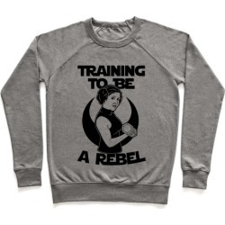 Training To Be A Rebel Pullover from LookHUMAN found on Bargain Bro Philippines from LookHUMAN for $34.99