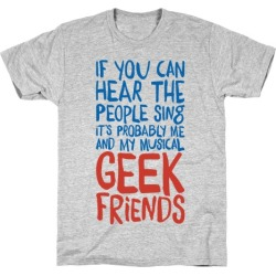 Musical Geeks T-Shirt from LookHUMAN