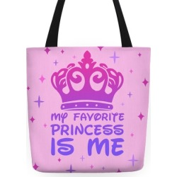 My Favorite Princess Tote Bag from LookHUMAN found on Bargain Bro Philippines from LookHUMAN for $27.99