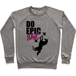 Epic Workout Pullover from LookHUMAN
