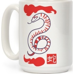 Snake - Chinese Zodiac Mug from LookHUMAN found on Bargain Bro from LookHUMAN for USD $13.67