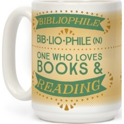 Bibliophile Definition Mug from LookHUMAN