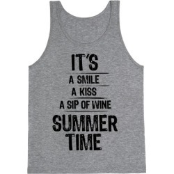 Summertime Tank Top from LookHUMAN