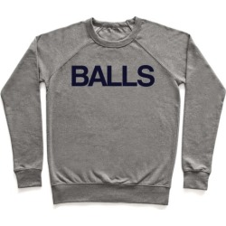 Balls Pullover from LookHUMAN