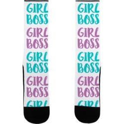 Girl Boss Socks from LookHUMAN