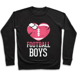 Football Boys Pullover from LookHUMAN