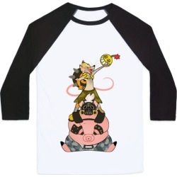 Our Names Are Junkrat and Roadhog! Baseball Tee from LookHUMAN