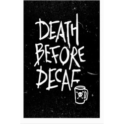 Death Before Decaf Poster from LookHUMAN found on Bargain Bro Philippines from LookHUMAN for $23.00