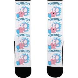 TRANSeratops Socks from LookHUMAN