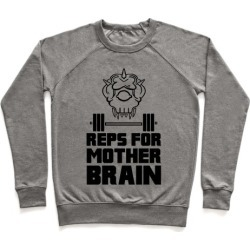 Reps For Mother Brain Pullover from LookHUMAN