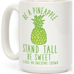 Be a Pineapple Mug from LookHUMAN found on Bargain Bro Philippines from LookHUMAN for $17.99
