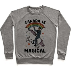 Canada Is Magical Pullover from LookHUMAN