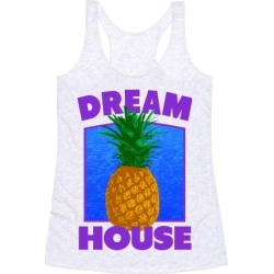 Dream House Racerback Tank from LookHUMAN