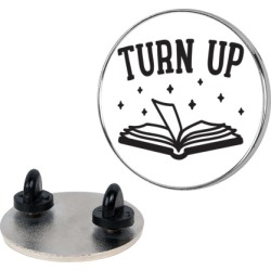 Turn Up Book Pin from LookHUMAN