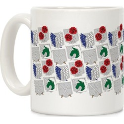 Attack On Titan Insignias Mug from LookHUMAN found on Bargain Bro India from LookHUMAN for $14.99