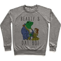 Beauty And Dat Boi Pullover from LookHUMAN