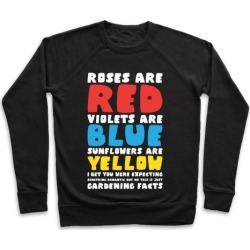 Gardening Facts Pullover from LookHUMAN