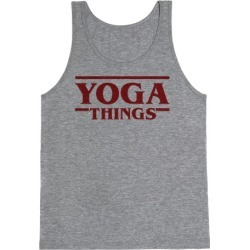 Yoga Things Tank Top from LookHUMAN