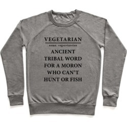 Vegetarian Definition Pullover from LookHUMAN