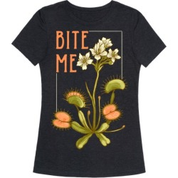 Bite Me Venus Flytrap T-Shirt from LookHUMAN found on MODAPINS from LookHUMAN for USD $25.99