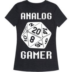 Analog Gamer T-Shirt from LookHUMAN found on MODAPINS from LookHUMAN for USD $25.99