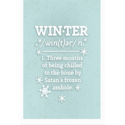 Winter Definition Poster from LookHUMAN