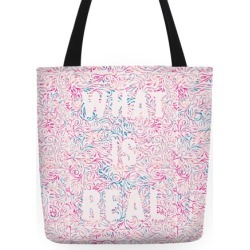 What is Real Tote Bag from LookHUMAN found on Bargain Bro India from LookHUMAN for $27.99