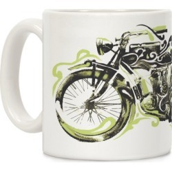 Vintage Motorbike Mug from LookHUMAN found on Bargain Bro Philippines from LookHUMAN for $14.99