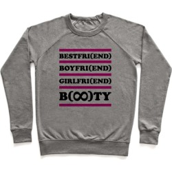 Forever Booty Pullover from LookHUMAN