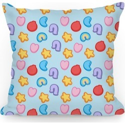 Lucky Cereal Treats Throw Pillow from LookHUMAN