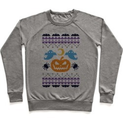 Ugly Halloween Sweater Pullover from LookHUMAN