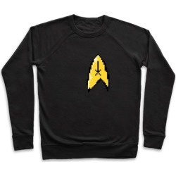 Star Trek 8-bit (Pocket) Pullover from LookHUMAN found on Bargain Bro Philippines from LookHUMAN for $34.99