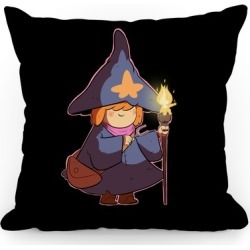 Wizard Girl Throw Pillow from LookHUMAN found on Bargain Bro Philippines from LookHUMAN for $25.99