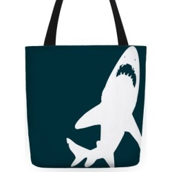 Shark Tote Tote Bag from LookHUMAN