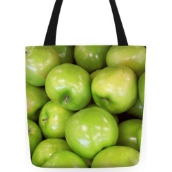Green Apple Tote Tote Bag from LookHUMAN