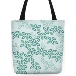 Fun Leaf Pattern Tote Tote Bag from LookHUMAN found on Bargain Bro Philippines from LookHUMAN for $27.99