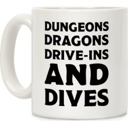Dungeons Dragons Drive-ins And Dives Mug from LookHUMAN
