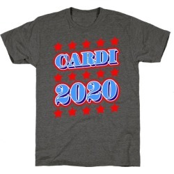 Cardi 2020 T-Shirt from LookHUMAN