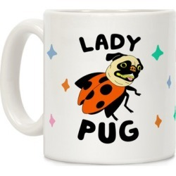 Lady Pug Mug from LookHUMAN found on Bargain Bro Philippines from LookHUMAN for $14.99