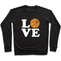 Love Basketball Pullover from LookHUMAN