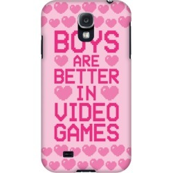 Boys Are Better In Video Games Phone Case from LookHUMAN found on GamingScroll.com from LookHUMAN for $25.99