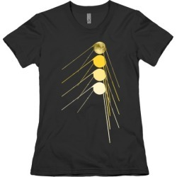 Sputnik Gold T-Shirt from LookHUMAN found on Bargain Bro Philippines from LookHUMAN for $21.99