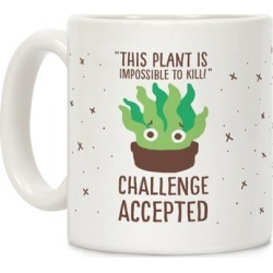 """""""Impossible"""" to Kill Plant Mug from LookHUMAN"""